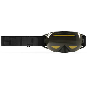 509™ Revolver Snowmobile Goggles - Whiteout - Polarized Yellow Tint Lens