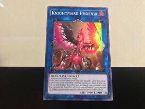 Knightmare Phoenix Super Rare FLOD-EN046 Near-Mint Unlimited Edition