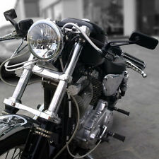Tapered Rectangle Motorcycle Rearview Mirrors For Harley Touring Road Glide Dyna