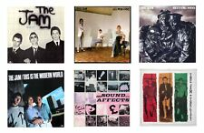 MINIATURE 1/12 Non Playable VINYL RECORD ALBUMS - THE JAM . WELLER - VARIOUS