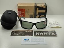 COSTA DEL MAR GLOBAL FIT BLACKFIN SUNGLASSES GRAY 580G GLASS LENS BL11GF OGGLP