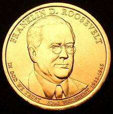 2014 P Franklin D. Roosevelt Presidential Dollar ~ Position B from US Mint Roll