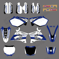 TEAM GRAPHICS&BACKGROUNDS DECALS For YAMAHA YZ125 YZ250 2002 03 04 05 06 07 08
