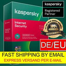 Kaspersky Internet Security 2021 Year 1, 2, 3, 5,10 Device / PC Geräte 1-2 Jahre