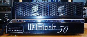 MCINTOSH MC 5OE/P261 SS 5O WATT MONO BLOCK, VERY RARE