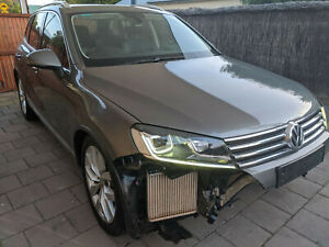 Damaged 2016 Volkswagen Touareg MY16 V6 TDI 7P Diesel Turbo 4MOTION SUV Wagon VW