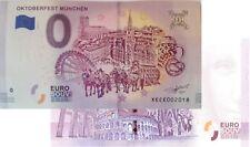 Oktoberfest München 2018-1 Null Euro Souvenirschein | € 0 Euro Schein