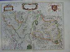 MAPPA TERRITORIO CADORE 1640 VENETO BELLUNO FELTRE CIVIDALE PIEVE DI CADORE