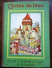Märchen. - Contes de Perrault. - Comtesse de Ségur. Maj Lindman u. Marcel Bloch