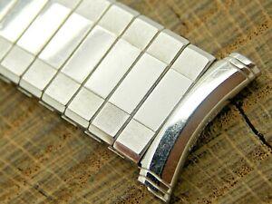 Speidel NOS Unused Vintage Gold Filled Watch Band 18mm Curved Lug Expansion Mens