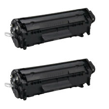 2PACK 12A Q2612A Compatible Toner Cartridge for Hp Laser Jet 3030 3050 3055