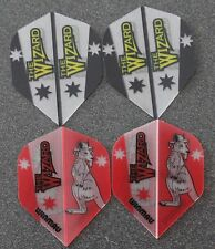 Winmau Simon Whitlock The Wizard dart flights - 4 sets  Brand New