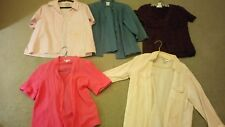 Millers Cotton Shirts Tops blouse ladies size 12 to 14....medium... lot of 5