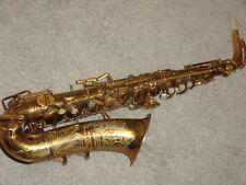 Buescher Big B True Tone Aristocrat Alto Saxophone, 1948, Original, Plays Great!