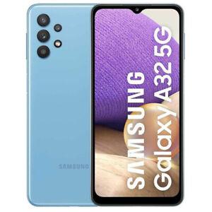 "SAMSUNG GALAXY SM-A32 A32 6.5"" 128GB RAM 4GB DUAL SIM 5G BLUE GARANZIA 24 MESI"