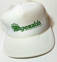 VTG-1980s Fitzgeralds Casino Reno Vegas foam mesh trucker snapback hat cap