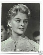 Patty McCormack Actress Vintage Portrait Photograph 10 x 8