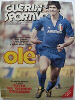 GUERIN SPORTIVO 18/1982 PAOLO ROSSI MICHELA MITI ALBI DEL MUNDIAL SCOZIA