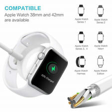 Qi Wireless Fast Charger Stand Dock Pad 2 in 1 For Apple Watch iPhone 8 X XS Max
