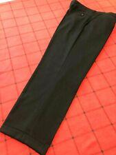 PRONTO-UOMO MEN'S Sz 40 X 31 QUALITY & COMFORT DRESS PANTS 100% WOOL