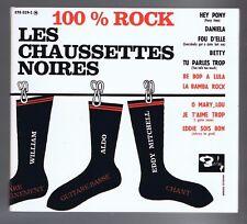 100% ROCK  LES CHAUSSETTES NOIRES (CD DIGIPACK)