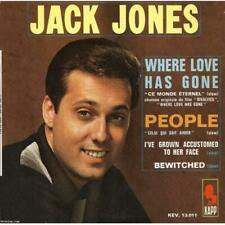 "EP 45 RPM (7"") Jack Jones "" Where love has gone """