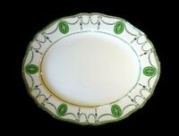 Beautiful Royal Doulton Countess Green Rim Oval Platter Circa 1920