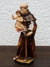 Heilige Antonius von Padua Deko Figur Heiligenfigur Jesuskind Religions Statue