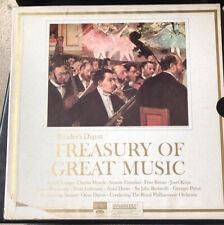 Treasury Of Great Music 12 LP Vinyl Box Set 1963 Reader's Digest RCA Dynagroove
