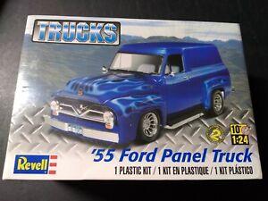Revell Trucks '55 Ford Panel Truck Skill 2 Model Kit Sealed