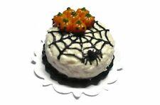 Halloween Cake Spider Pumpkin Dollhouse Miniatures Food Bakery Holiday Season 9