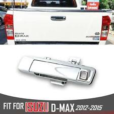 Chrome Tailgate Rear Door Handle Cover Trim Camera New Isuzu D-Max DMax 2012-15