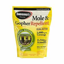 Sweeney's S7001-1 Mole and Gopher Repellent Granules 4 lb. Yellow Free Shipping