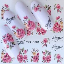 Fashion 1pc hot nail art sticker beauty water transfer nail decor manicure decal