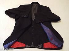 HOLLAND ESQUIRE Waistcoat Jacket | Size 40R | RRP £395 | 70% OFF & UK FREEPOST