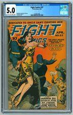 Fight Comics #37 CGC 5.0 (4/1945, Fiction House) Joe Doolin Cover