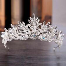 Crown Tiaras Crystal Rhinestone Bridal Hair Accessories Headbands Wedding Crowns