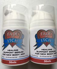 Fade The Itch Tattoo Aftercare Healing Serum 2 X 50ml