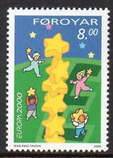 Faroe Islands Mnh 2000 Sg393 Europa