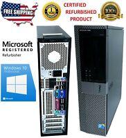 Custom Build Dell Optiplex 980 DT i5-650 3.20GHz Desktop Computer PC