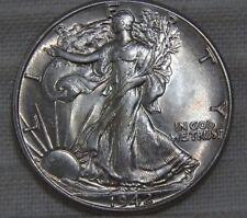 1942-P Walking Liberty Half Dollar AU About Uncirculated