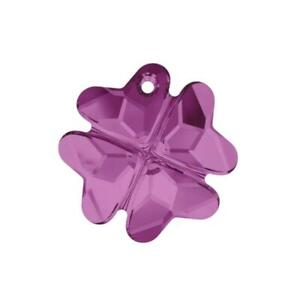 Clover pendant 6764 Swarovski® Crystal 28MM (8 Different Color Options)