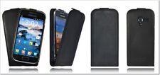 Akira Samsung Galaxy Ace 2 Echtleder Schutzhülle Flip Ledertasche Wallet Case