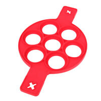 7 Holes Silicone Pancake Maker Creative Kitchen Fried Eggs Molds Nonstick Tool