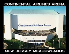 NJ MEADOWLANDS - CONTINENTAL AIRLINES ARENA - Souvenir Flexible Fridge Magnet