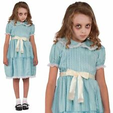 Sister Nurse Zombie Halloween Kids Girls Fancy Dress Costume Outfit 9-10 Yrs