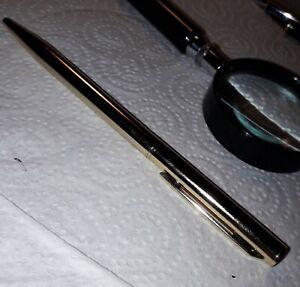 Gold-coloured Slim Ballpoint Pen