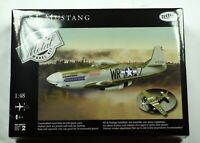 Testors Metal P51 Mustang Airplane 1:48 Scale Diecast Metal Model Kit NEW SEALED