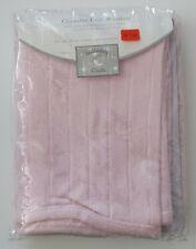 Vintage 1999 Target Chenille Crib Blanket Lullaby Club Light Pink.
