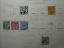 Barbados old stamp collection